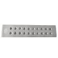 Доска фильерная квадрат 2 ряда 20 вставок 5,1-7 мм