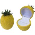 Футляр флок, ананас (№11 кольцо, 1 прорезь), желтый, 130011