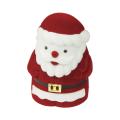 Футляр флок, Дед Мороз №11 под кольцо, 1 прорезь, красный, 138411