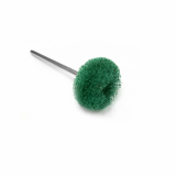 Крацовка сатиновая зеленая - средняя н/д Ф19