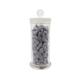 Наполнитель для галтовки  пластик конус серый 400 1кг