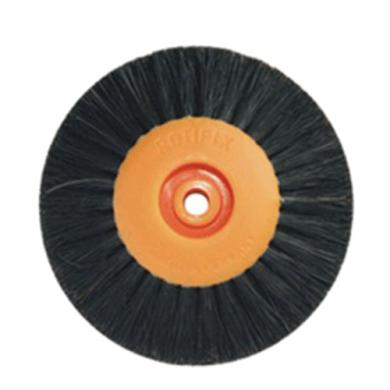 Щетка (40-78мм 78мм) 3-х рядная оранжевая пластик KG0793