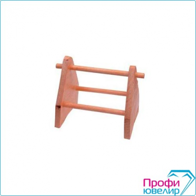 Подставка для флацанок деревянная, 3108