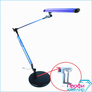 Лампа настольная MedenStar DLZM010 синий бестеневая светодиод.