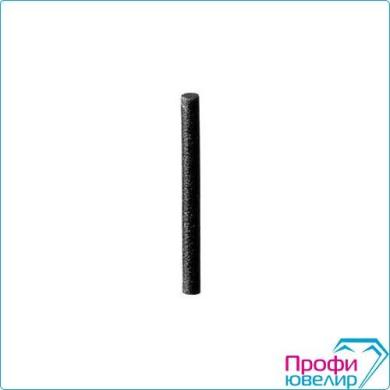 Резинка цилиндр-стержень 20х2мм черная, силикон, средняя, №62