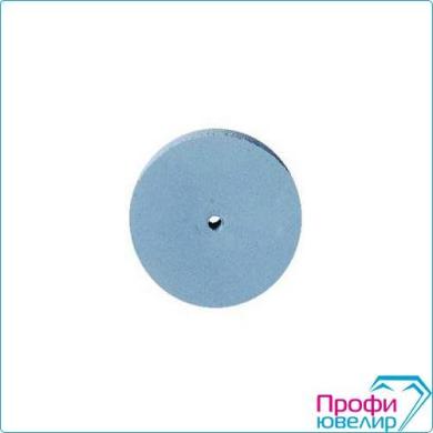 Резинка диск 22х3мм голубая Италия, силикон №800