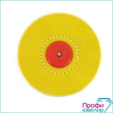 Круг муслиновый желтый 125x5x60 пластиковый центр