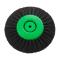 Щетка (40-78мм 78мм) 4-х рядная зеленая пластик KG0792