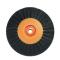 Щетка (40-78мм 78мм) 4-х рядная оранжевая пластик KG0793