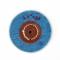 Круг муслиновый голубой 64x2,5х50, 81-0080
